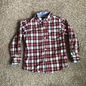 Carter's Plaid Little Boys Button Up Shirt